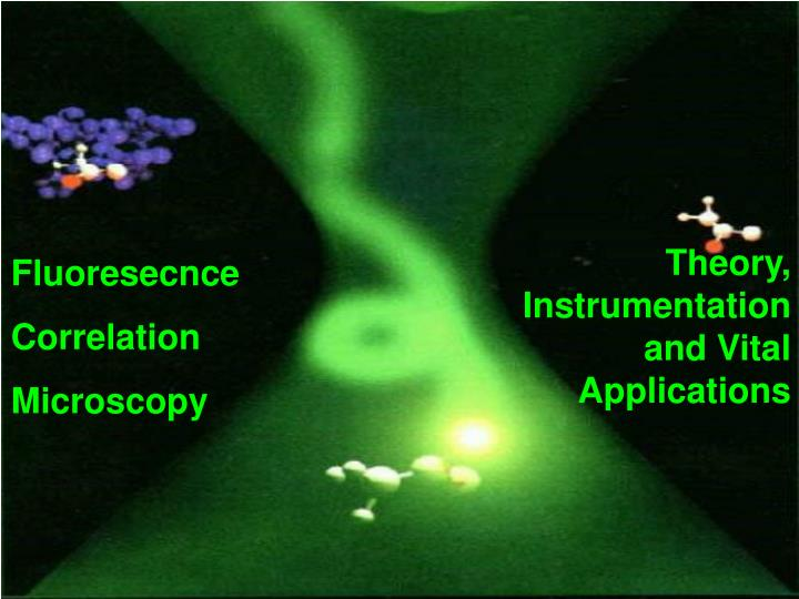 Theory, Instrumentation and Vital Applications