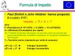 formula di impatto