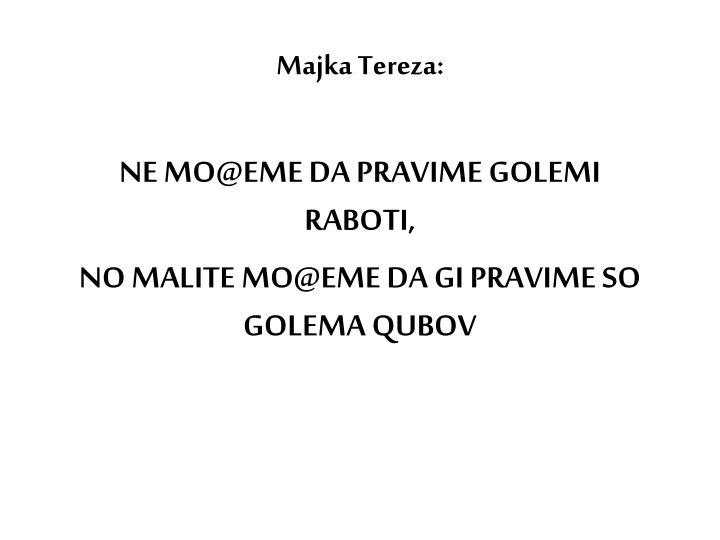 Majka Tereza: