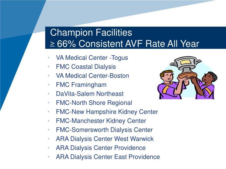 Champion Facilities