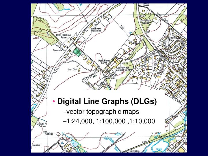 Digital Line Graphs (DLGs)