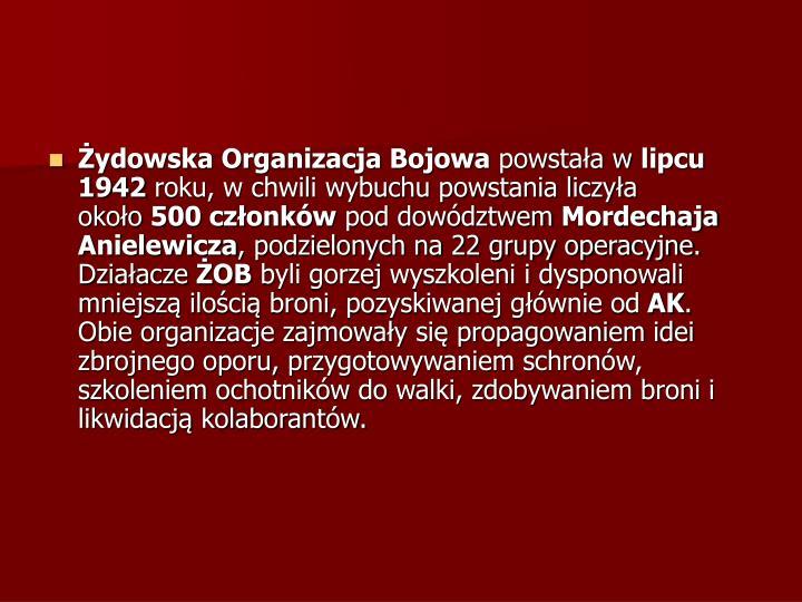 Żydowska Organizacja Bojowa