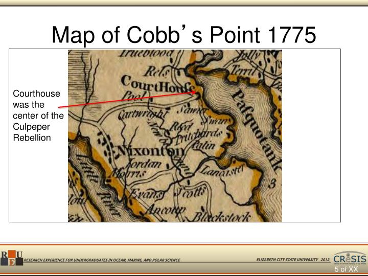 Map of Cobb