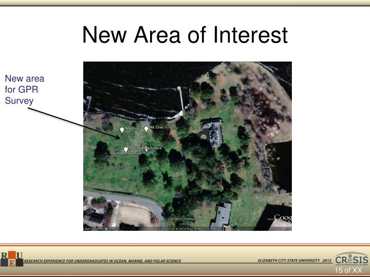 New Area of Interest