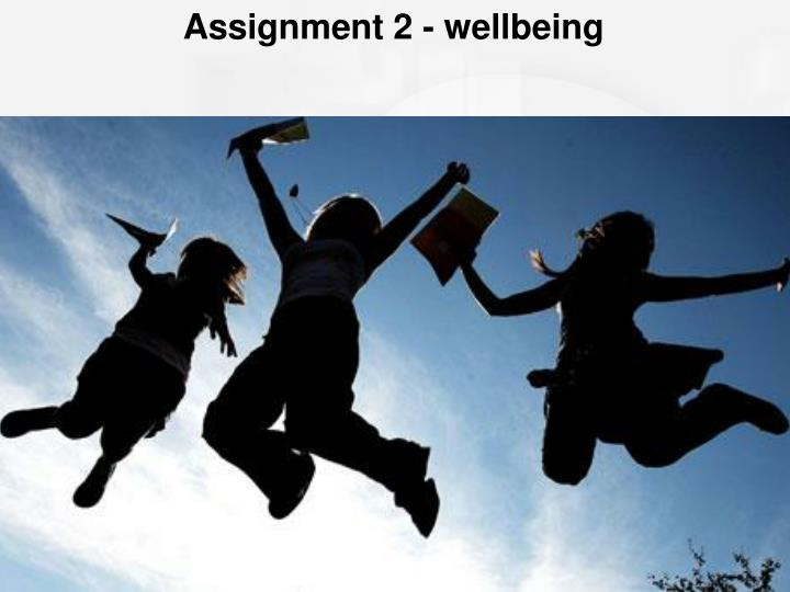 Assignment 2 - wellbeing