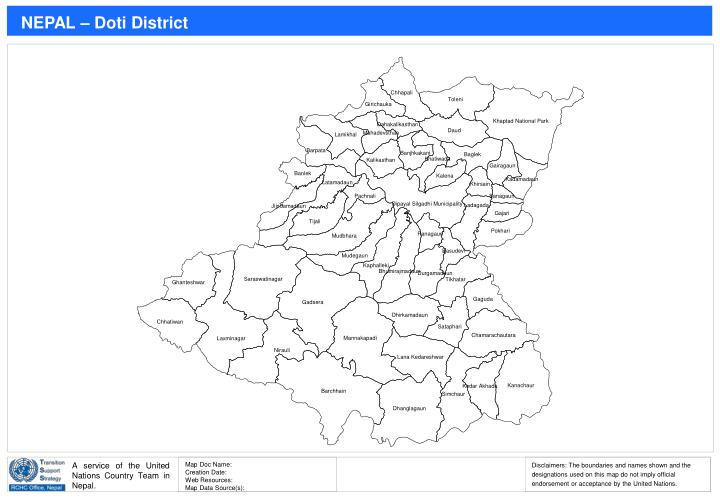 NEPAL – Doti District