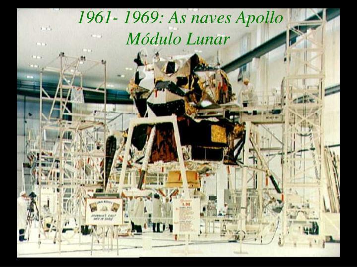 1961- 1969: As naves Apollo