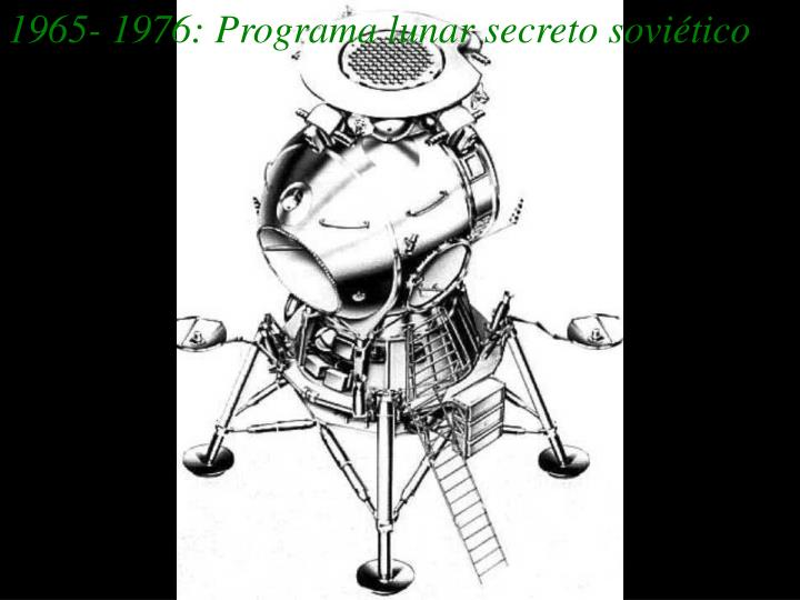 1965- 1976: