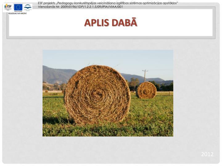 APLIS DABĀ