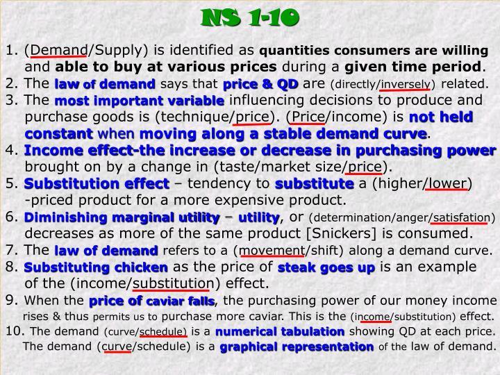 NS 1-10