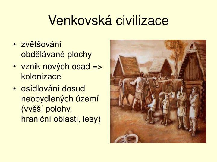Venkovská civilizace