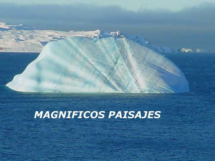 MAGNIFICOS PAISAJES