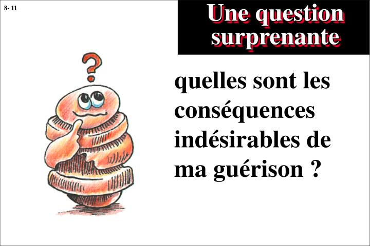 Une question surprenante
