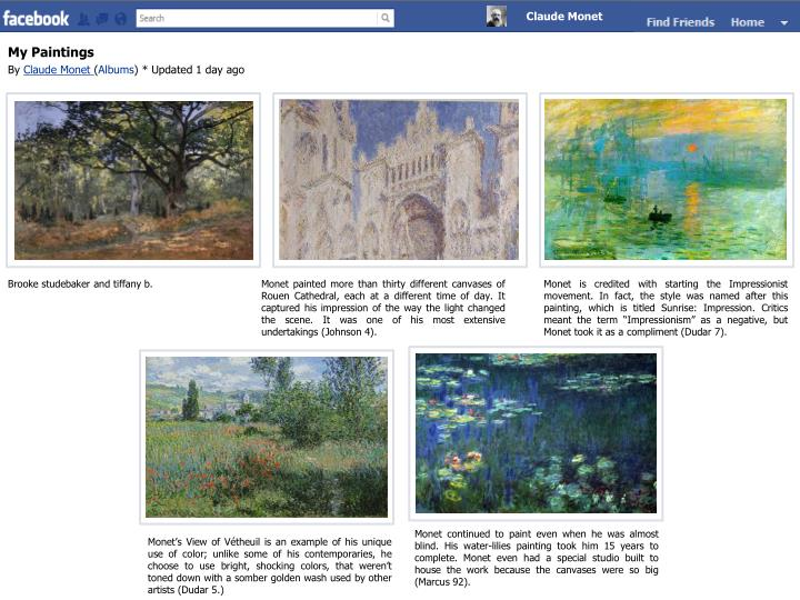 My paintings by claude monet albums updated 1 day ago