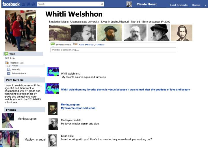 Whitli welshhon