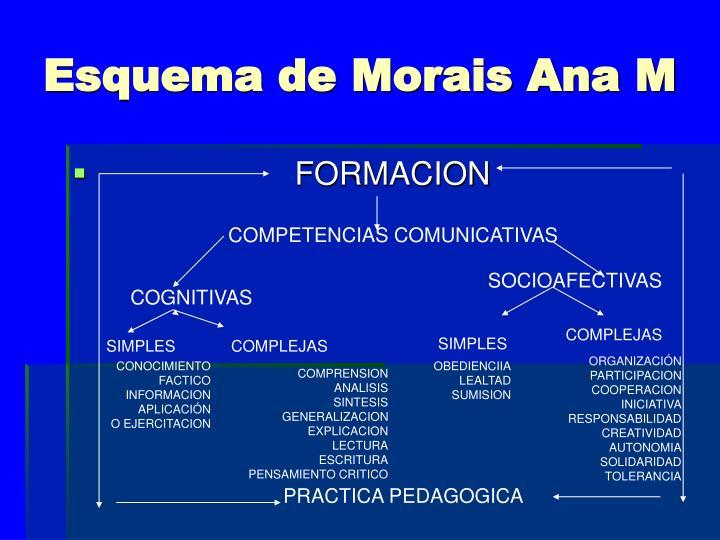 Esquema de Morais Ana M