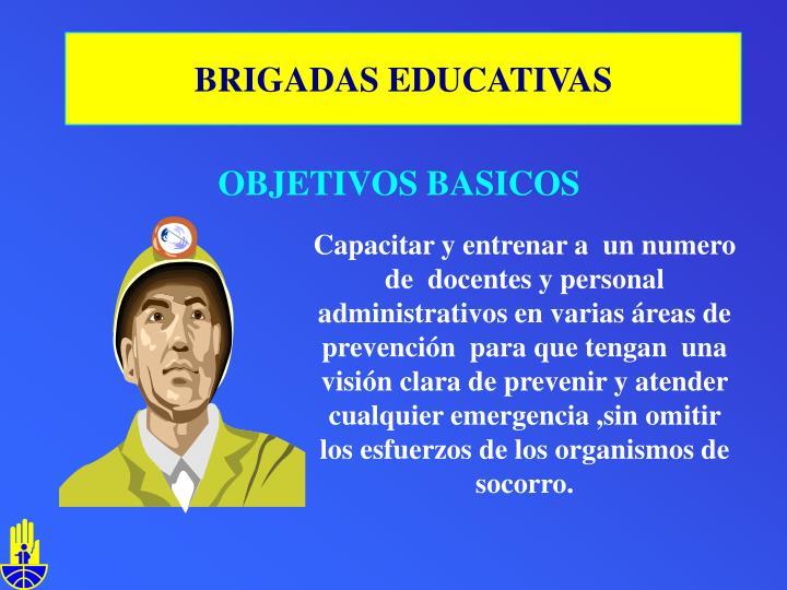 BRIGADAS EDUCATIVAS