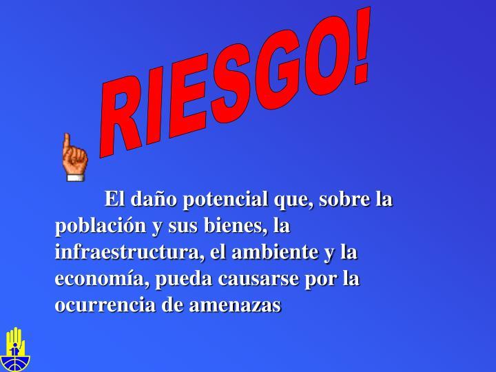 RIESGO!
