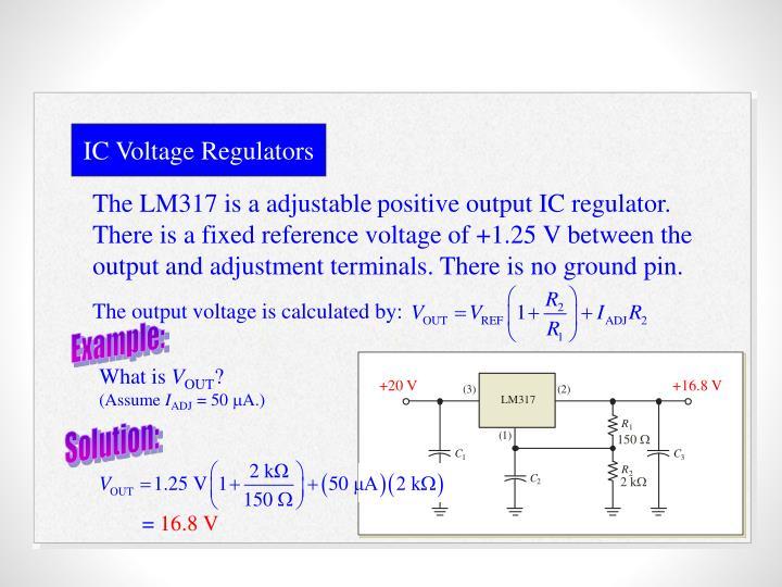 IC Voltage Regulators