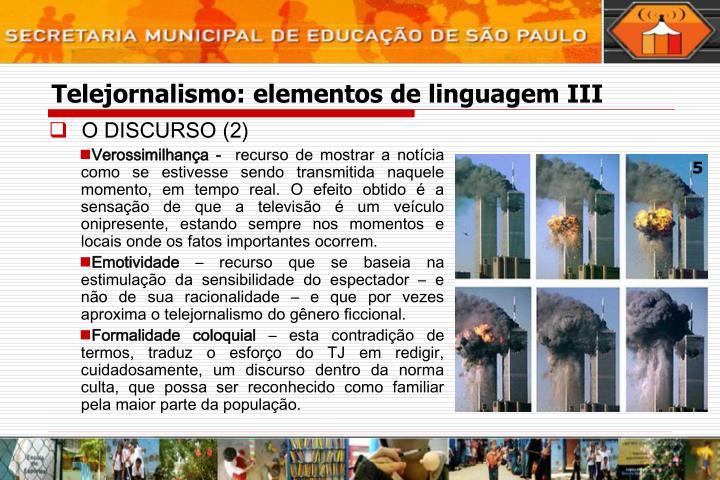 O DISCURSO (2)