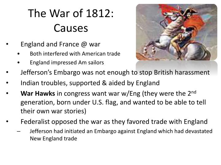 The War of 1812: Causes