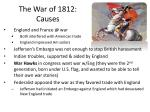 the war of 1812 causes