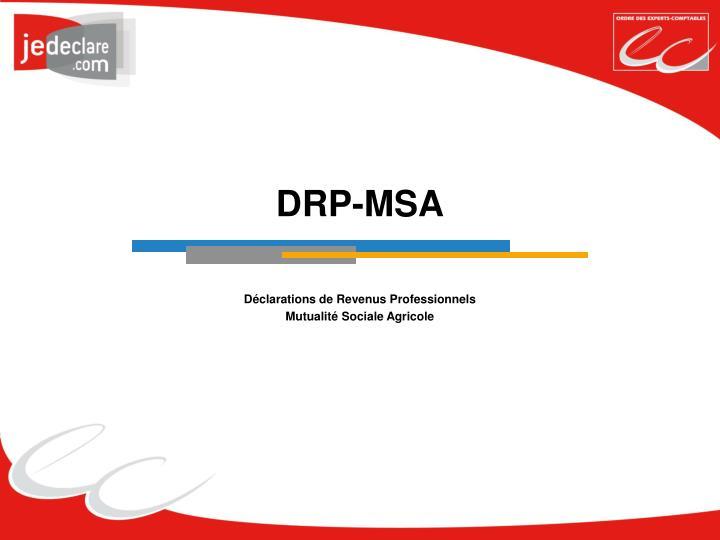 DRP-MSA