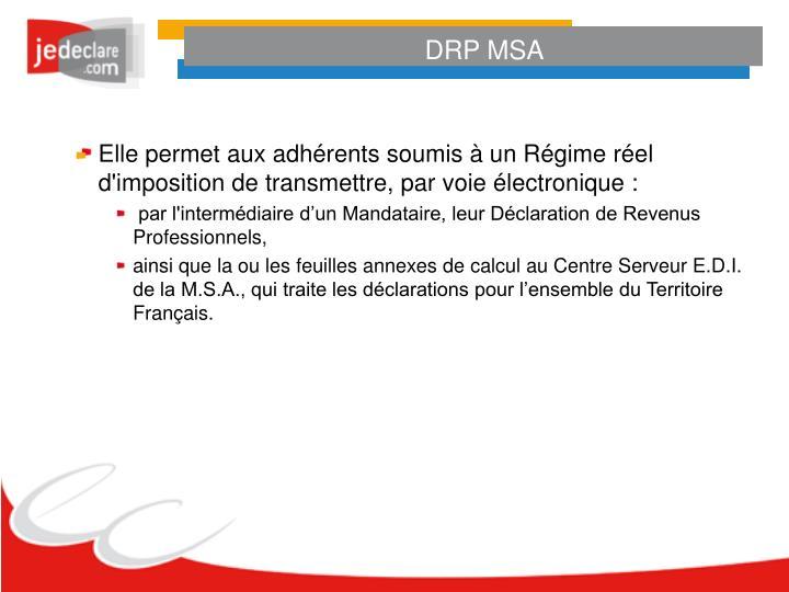 DRP MSA
