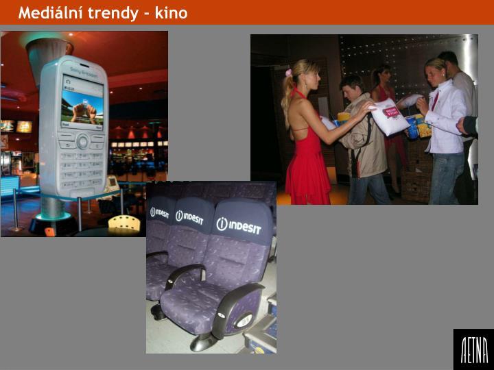 Mediální trendy - kino