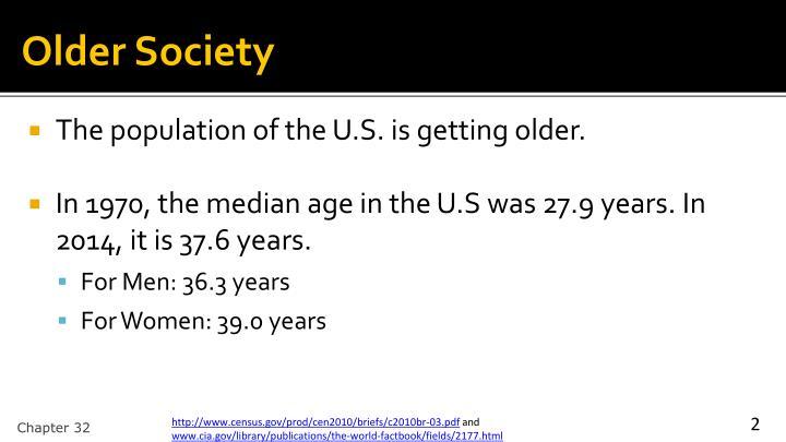 Older Society