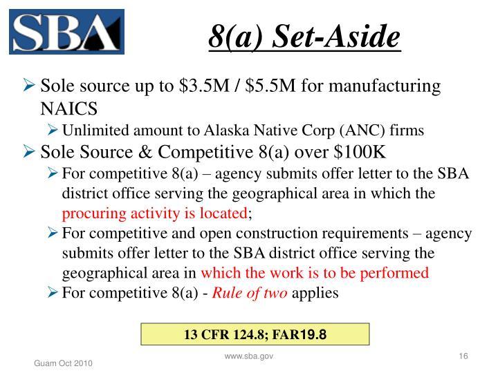 8(a) Set-Aside
