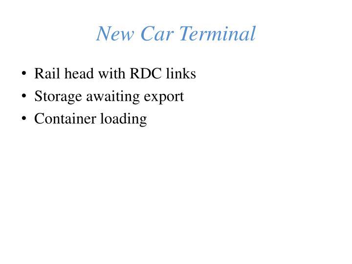 New Car Terminal