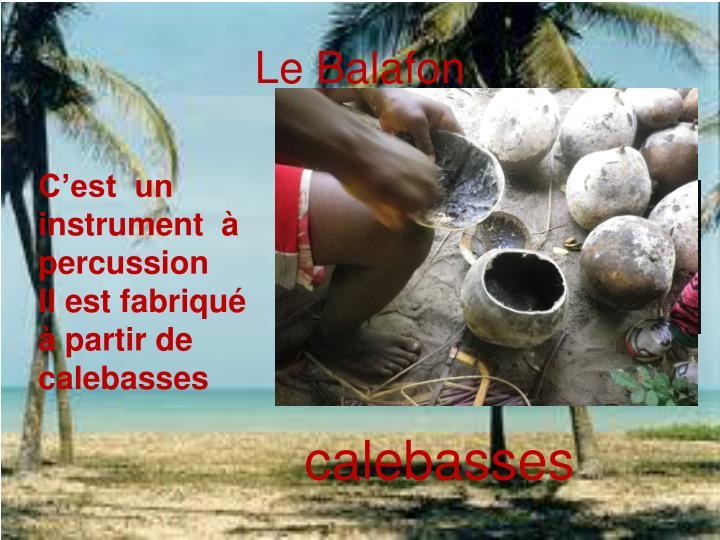 Le Balafon