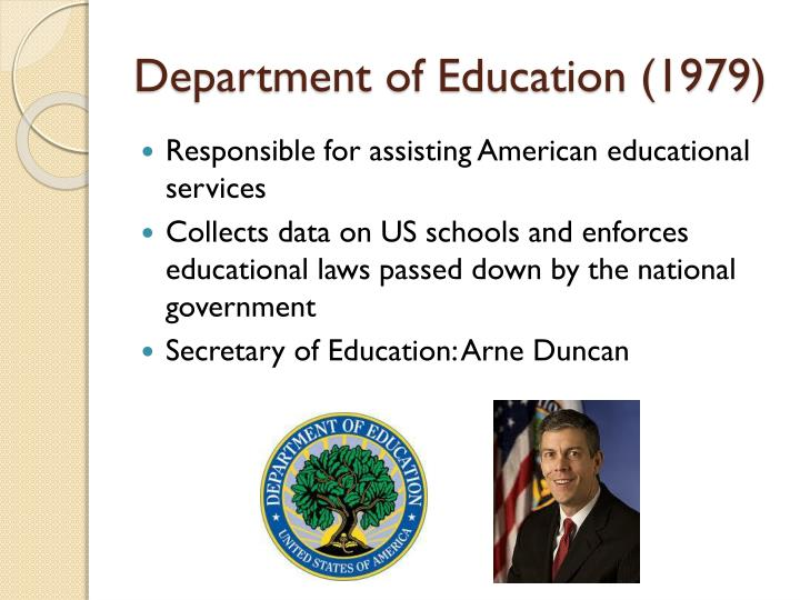 Department of Education (1979)