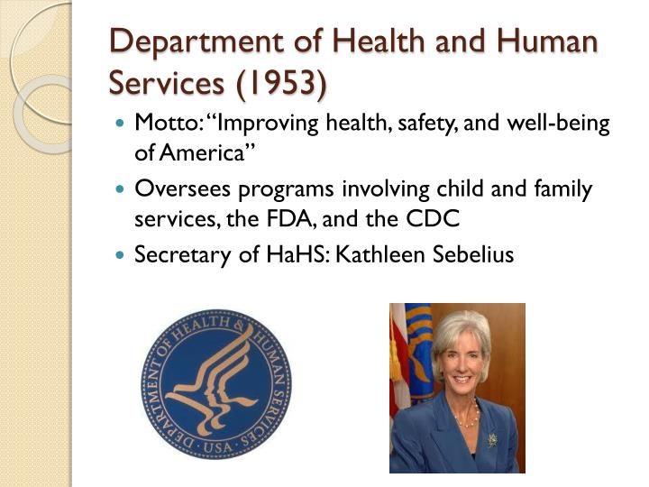 Department of Health and Human Services (1953)
