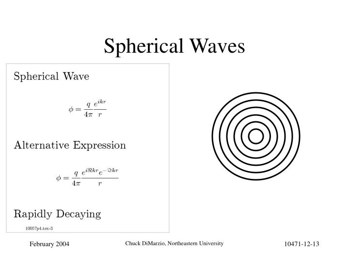 Spherical Waves