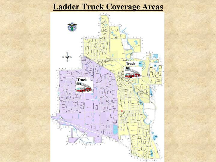 Ladder Truck Coverage Areas