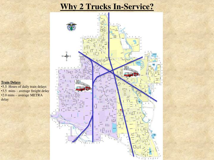 Why 2 Trucks In-Service?