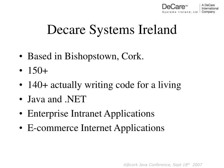 Decare Systems Ireland