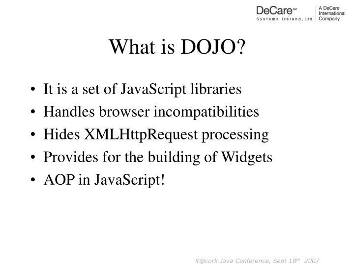 What is DOJO?