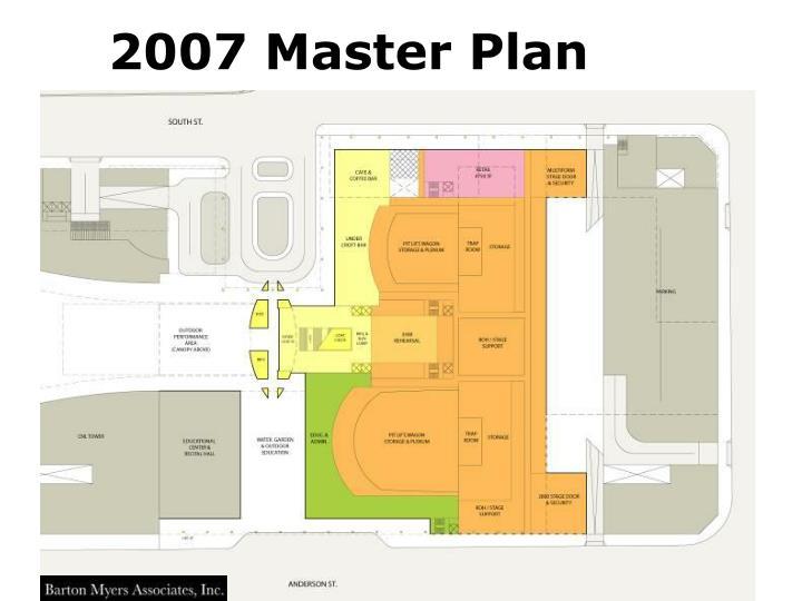 2007 Master Plan