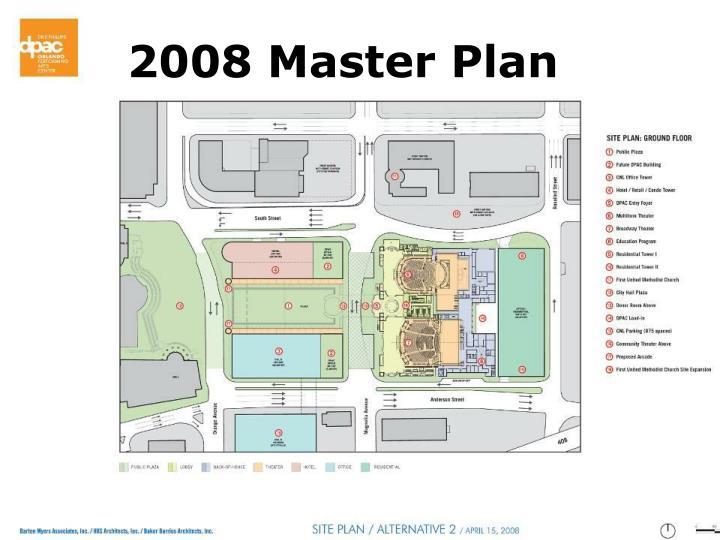2008 Master Plan