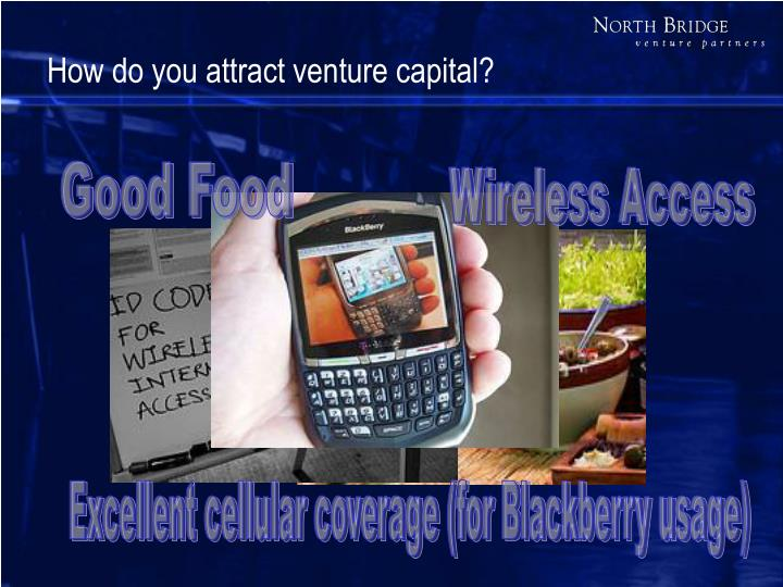 How do you attract venture capital?