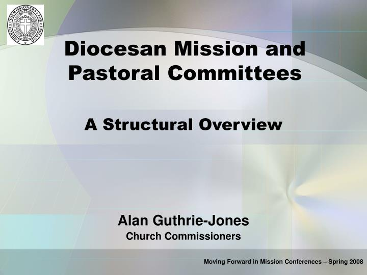 Diocesan Mission and Pastoral Committees