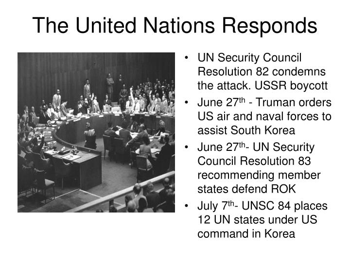 The United Nations Responds