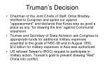 truman s decision1