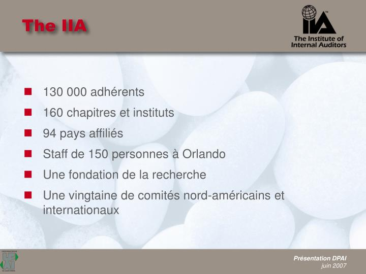 The IIA