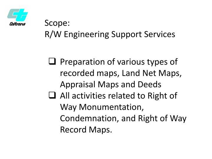 Scope: