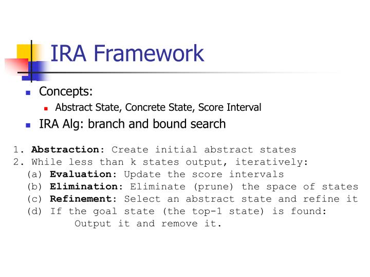 IRA Framework