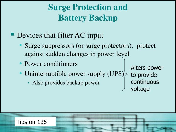 Surge Protection and